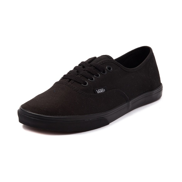 Vans Shoes - Vans Authentic Lo Pro Black Vans 5553dfff1